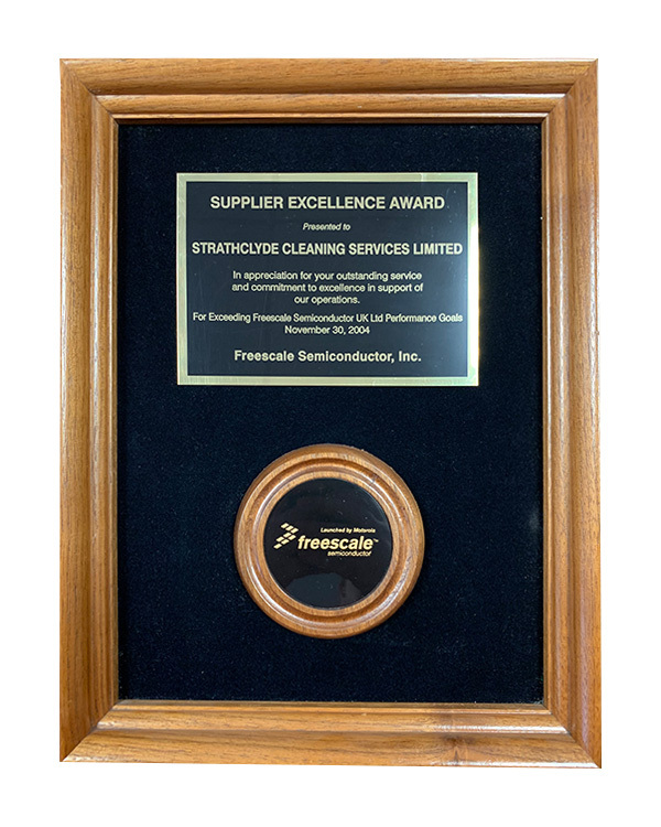 motorola award plaque